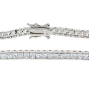 Brynlee Sterling Silver Tennis Bracelet