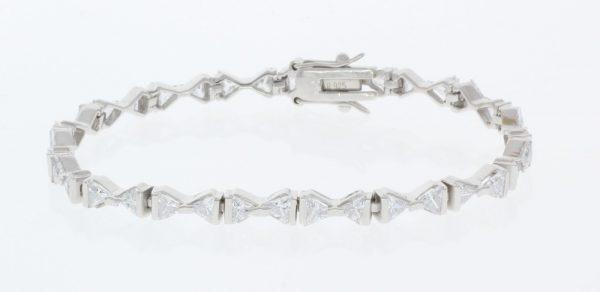 Londyn Sterling Silver Tennis Bracelet