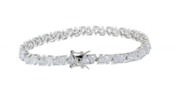 Eden Sterling Silver Tennis Bracelet